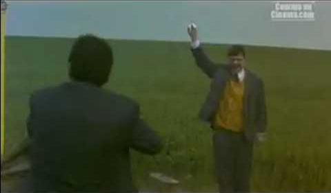Le Huitième Jour - Scène filmée dans la plaine de Boneffe