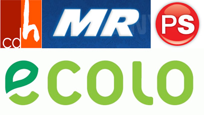 CDH - MR- PS - Ecolo :: leur programme électoral sur l'éolien